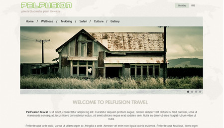 Travel Website PSD Template – High Quality and Layered
