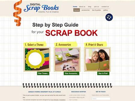 ScrapBook template