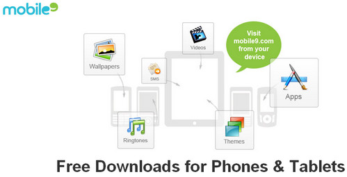 Mobile9 - Free downloads for phones and tablets
