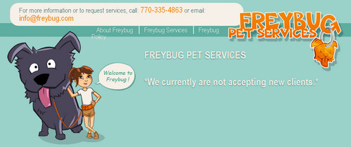 Freybug Pet Services
