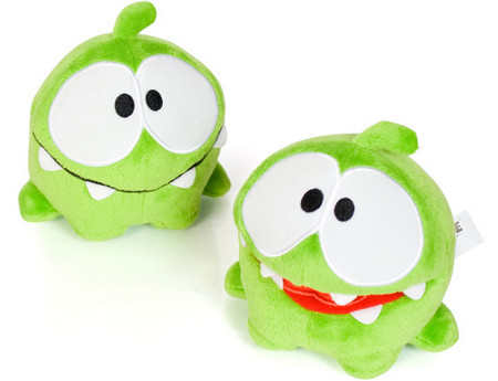 Cut the Rope 'Om Nom' 8 Inch Plush