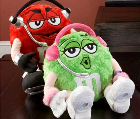 M&M Plush Speakers