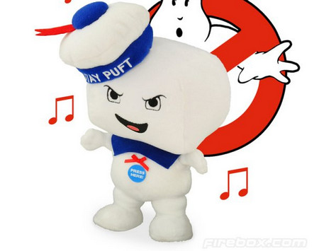 Musical 8.5″ Plush Stay Puft Marshmallow Man