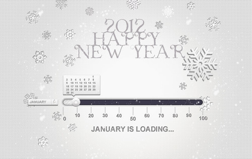 Freebie: 2012 Happy New Year Wallpaper