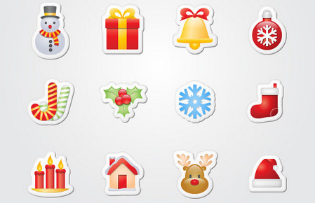 Xmas Stickers from MightyDeals