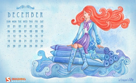 Desktop Wallpaper Calendar: December 2011