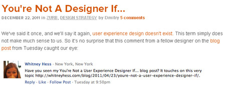 You're Not A Designer If...