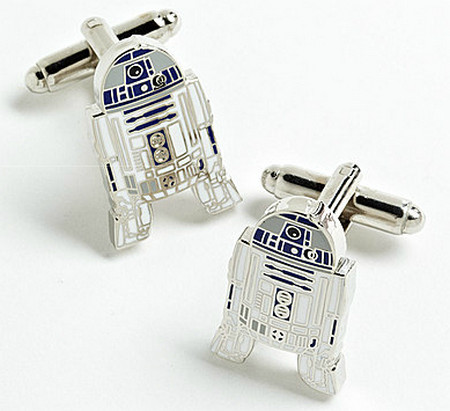 CUFFLINKS STAR WARS R2-D2