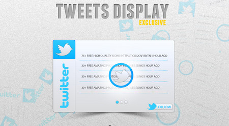 Twitter Display