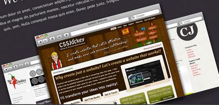 Portfolio Homepage PSD