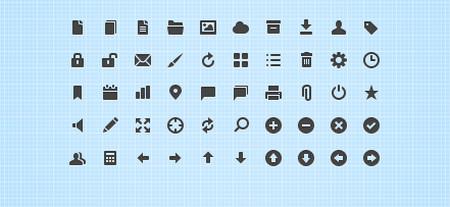 50 Crisp Web UI Icons