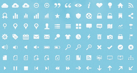 set of scalable vector web icons