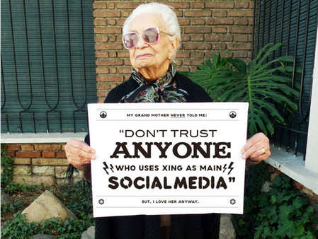 Grandma's Advice and Great Typography