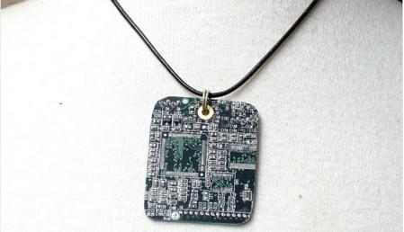 circuitry board Neclace