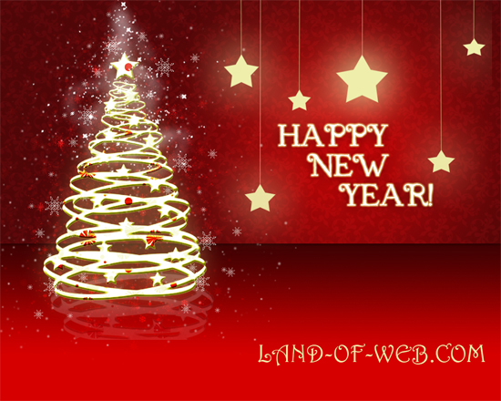 We wish you a Happy New Year!!!