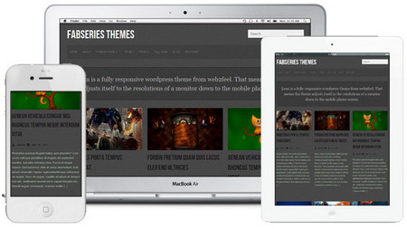 Leon is first fully responsive wordpress theme from web2feel