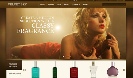 Velvet Sky - Prestashop and WordPress E-Commerce Theme