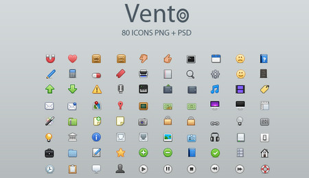 Vento Icon Set and Source