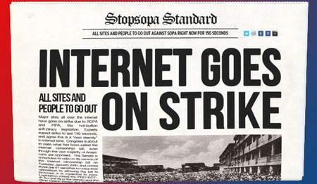 The SOPA blackout is the most American thing we've done all day