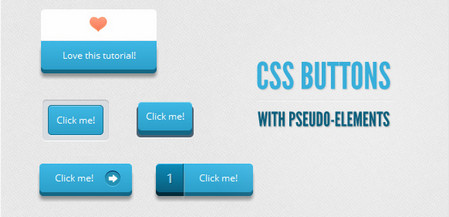 CSS Buttons with Pseudo-elements
