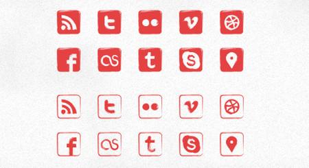 """Seal"" Social Icons"
