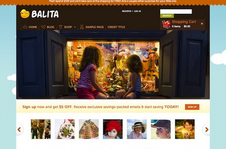 Balita - E-Commerce WordPress Theme