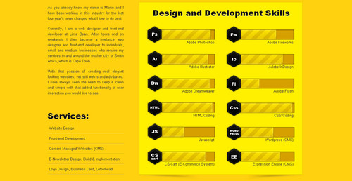 Marlin Jackson - Web Designer