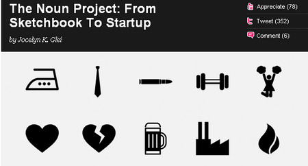 The Noun Project: From Sketchbook To Startup