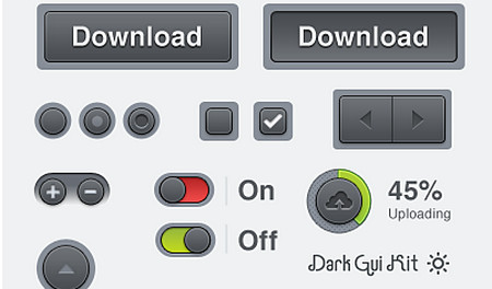 Dark GUI Kit