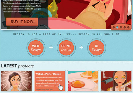 110+ Fresh FREE Website Layout PSD Templates