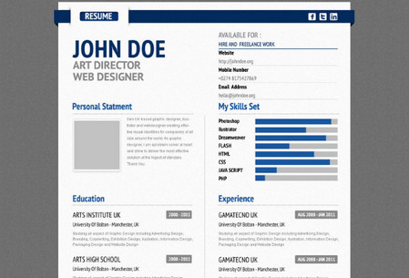 Aurel Resume Premium Template
