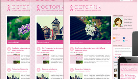 OctoPink Theme