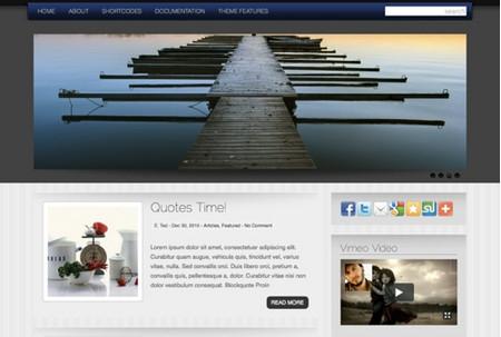 Letterhead WordPress theme