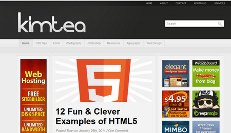 Kimtea Theme is a high quality magazine wordpress theme