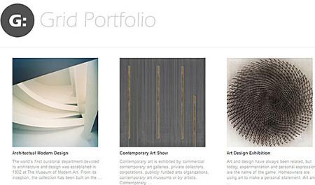 Grid Portfolio Theme