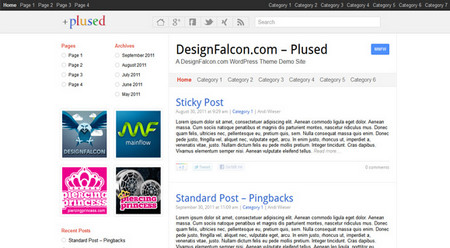 Plused Free WordPress Theme