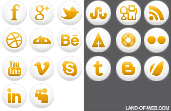 preview - Freebie: Simple Social Icons