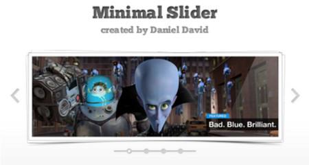 Minimal Slider