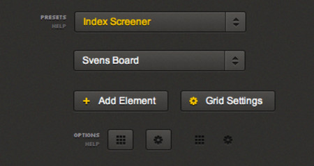 Grid UI Set (HTML/CSS)