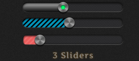 3 sliders