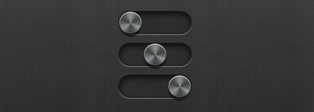 3 small sliders