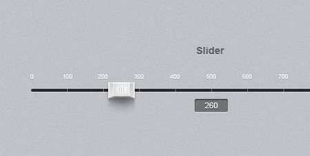 Slider + psd