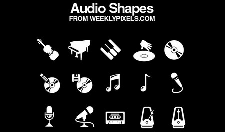 Audio Shapes and Vectors