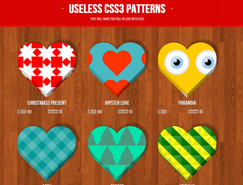Useless CSS Patterns