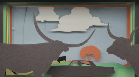 Love Is Making Its Way Back Home: A Stop Motion Animation Using 12,000 Sheets of Construction Paper