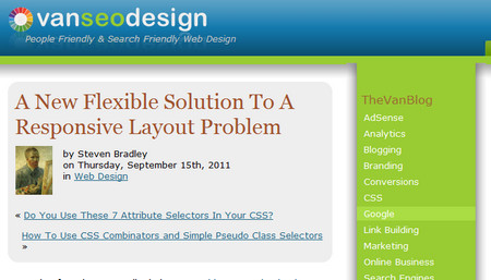 A New Flexible Solution To A Responsive Layout Problem