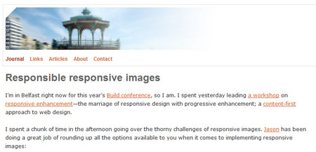 Responsible responsive images