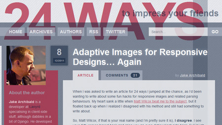 Adaptive Images for Responsive Designs… Again