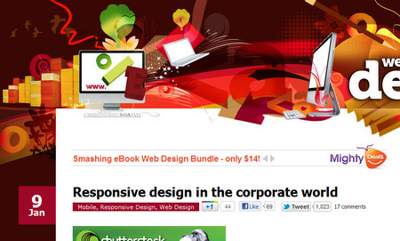 Responsive design in the corporate world