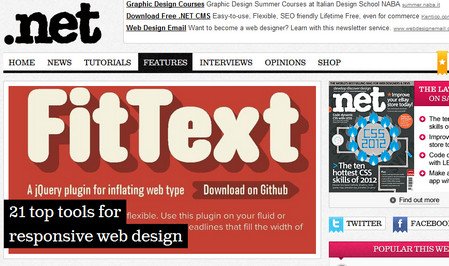 21 top tools for responsive web design